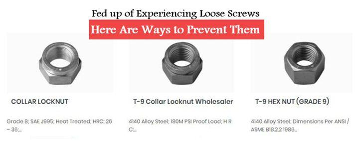 locknuts manufacturer and supplier